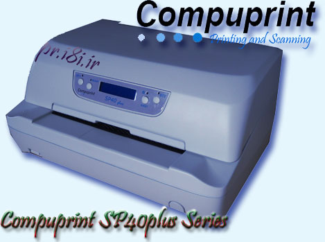Compuprint SP 40 plus+ Serial Matrix-Dot Matrrix printer-Passbook and transactional printer-Bankbook Printer-special printers-Flatbed